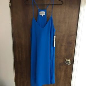 Nicole Miller Blue Dress